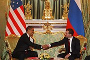 Barack Obama et Dimitri Medvedev, Kremlin, 2009, photo: www.kremlin.ru