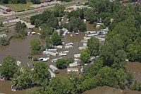 Letošní povodně na řece Mississippi