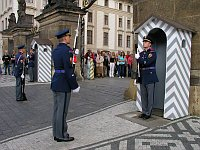 Changing of the guard up at the Castle, photo: © City of Prague