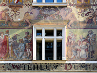 Wiehlův dům - murals designed by Mikoláš Aleš, photo: Alex Went