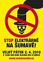 Protest gegen Heizkraftwerk (Quelle: www.sumavasobe.cz)