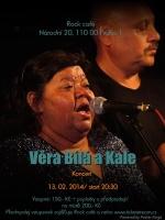 Pozvánka na koncert Věry Bílé a Kale
