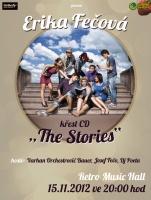 Pozvánka na křest alba The Stories (Foto: www.erikafecova.cz)
