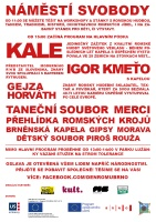 Program Mezinárodního dne Romů v Brně 8. dubna 2013