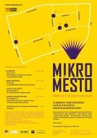 Pozvánka na literární akci Mikroměsto (Zdroj: Muzeum romské kultury)