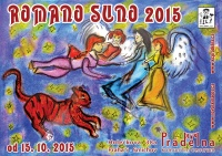 Pozvánka na výstavu Romano suno 2015 (Zdroj: Nová škola)