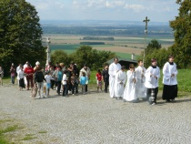 Romská pouť na Svatém Kopečku u Olomouce (Foto: Charita Olomouc)