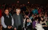 Stanislav Čonka a režisér Ladislav Kaboš s filmem Všetky moje deti v Kežmarku (Foto: Media Film)
