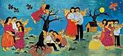 Gyöngyi Raczne Kalanyos: Reunion, malba