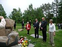 Slavnostní otevření památníku, foto: www.romove.cz
