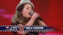 Adélka Ferencová v soutěži Česko Slovensko má talent (Foto: www.ceskoslovenskytalent.cz