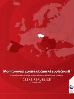 Monitorovací zpráva občanské společnosti o plnění národní strategie integrace Romů a akčního plánu Dekády v České republice v roce 2012 (Zdroj: www.osf.cz)