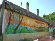 Pomalovaný dům ve vesnici Bódvalenke (Foto: www.bodvalenke.eu)