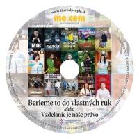 CD k projektu Berieme to do vlastných rúk (Zdroj: Mecem)