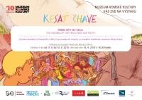 Pozvánka na výstavu komiksů a fotografií o skupině Kesaj čhave (Zdroj: Muzeum romské kultury)