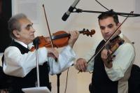 Eugen Horváth se synem Milanem (Foto: Muzeum romské kultury)