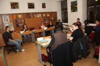 Kurz v knihovně Muzea romské kultury (Foto: www.rommuz.cz)