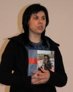 Autorka katalogu Jana Poláková (Foto: Lenka Grossmannová)