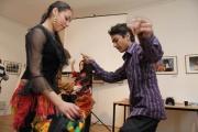 Workshop o romském tanci a hudbě (Foto: Lenka Grossmannová)