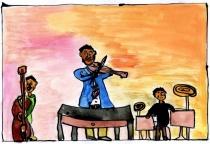 Koncert - obrázek ze soutěže Romano suno