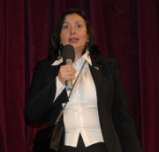 Marie Gailová na vyhlášení soutěže Zlaté srdce (Foto: www.nasedite.cz)
