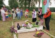 Na hřbitově v Žabně