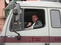 Řidič (Foto: o. s. Buči)
