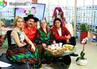 V pořadu I já jsem se narodil v Rumunsku (Foto: Naţional TV, www.nationaltv.ro)