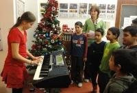 Vánoční besídka (Foto: Archiv Salesiánského střediska Štěpána Trochty  v Teplicích)