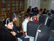 Internetový klub Čhave ve škole v Boleslavově ul. v Praze 4 (Foto: www.internetovekluby.cz)