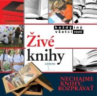 Živé knihy (Zdroj: www.iuventa.sk)