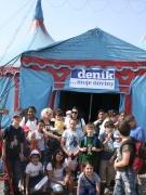 Děvčatům se v cirkuse líbila hlavně čísla se zvířátky, kluky nadchla zas akrobacie na motorkách (Foto: Eva Haunerová)