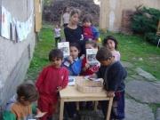Děti z Dobré Vody u Toužimi (Foto: Český západ)