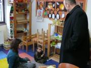 Pan hejtman Novotný se v sídle Českého západu zúčastnil programu Školičky pro děti od 2 do 6 let