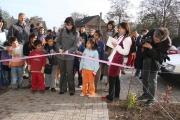 Obyvatelé Dobré Vody slavnostně otevřeli tři nově upravená veřejná prostranství v obci (Foto: Eva Haunerová)