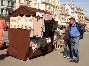 Český západ své výrobky na trzích v Plzni prodává několikrát do roka (Foto: Eva Haunerová)