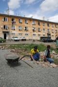 V roce 2007 pracovalo v Dobré Vodě 60 % obyvatel místní převážně romské komunity (Foto: Eva Haunerová)