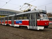 Výstava Ratolesti Brno cestuje galerijní tramvají (Foto: Pavla Rozkošná)