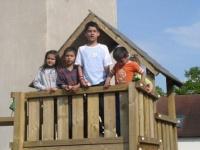 Děti z azylového domu v Mladé Boleslavi (Foto: www.r-mosty.cz)