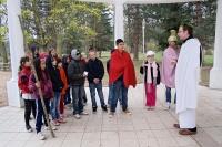 Křížová cesta pořádaný Salesiánským střediskem v Teplicích-Proseticích