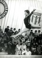 Dana Gažiová (dnes Beránková) při závodu (Foto: Archiv Dany Gažiové)