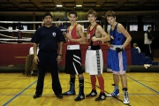 Jan Balox s mladými boxery z klubu Palaestra (Foto: palaestra.ecn.cz)