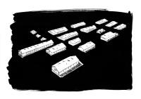 Michaela Pospíšilová Králová: Jako by nikdy neexistoval... Romský koncentrační tábor Hodonín u Kunštátu. Instalace (malba, fotografie, koláže) 2015 (Foto: DOX)