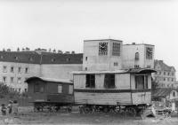 Záchytný tábor Hellerwiese, 1940/41 (Fotografie: Spolkový archiv, obraz č. 146-1987-108-18, Zdroj: Wien Museum)