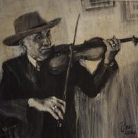 Ron Glasbeek: Tata Mirando, 1933 (Foto: Muzeum romské kultury)