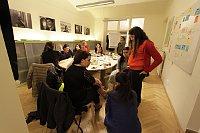 Politisches Training für Roma-Frauen (Foto: Zdeňka Lammelová, Archiv der Heinrich-Böll-Stiftung)