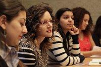 Politický výcvik pro romské ženy (Foto: Zdeňka Lammelová, archiv Nadace Heinrich-Böll-Stiftung)