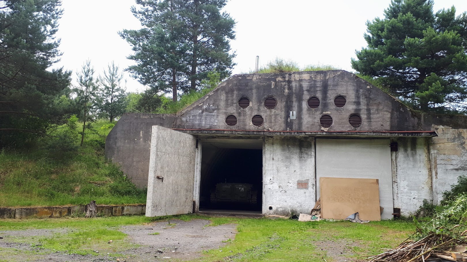 El antiguo campo militar de Milovice, foto: Barbora Kvapilová, ČRo