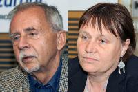Stanislav Křeček a Anna Šabatová (Foto: Šárka Ševčíková)