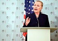 Hillary Clinton (Foto: Filip Jandourek, Archiv des Tschechischen Rundfunks)